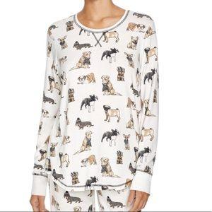 P.J Salvage raining dogs theme softest Pajama top
